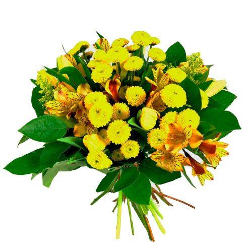 Ramo variado tonos amarillos